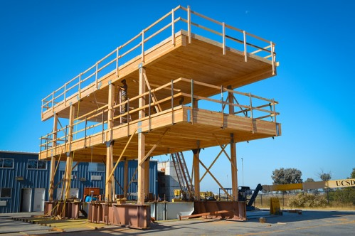 As wooden structures gain popularity, engineers work to ensure their seismic resiliency.