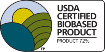 Figure 1: The USDA certified biobased product seal. Source: ArmaKleen