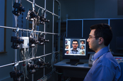 A NIST-developed system studies the performance of facial recognition software programs. Image: NIST