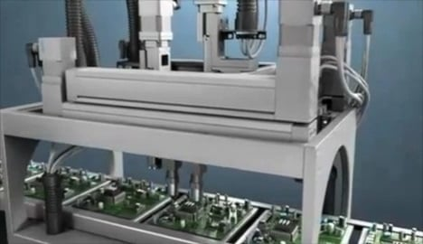 Electronics Assembly with the Festo EXCM Gantry