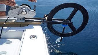 Fiber optic reel system supports deep sea exploration