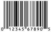 The original bar code standard supported 10 digits, with each digit coded as a set of lines in a specific field reserved for that digit, as well as a checksum and framing lines; the wider lines are actually the combination of multiple thin lines within a given digit's field. Credit: Simply Barcodes