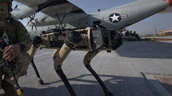 US Air Force using robot-dogs to secure air bases