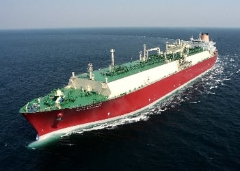 Q-Flex-class LNG carriers could make the voyage to markets in 7-9 days. Credit: Wikipedia
