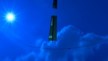 Computer rendering of the Ocean Cleanup anchor. Image credit: Erwin Zwart/The Ocean Cleanup