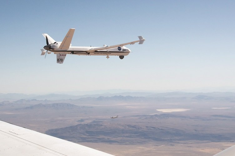 NASA Successfully Tests Large Drone Flight Without Chase