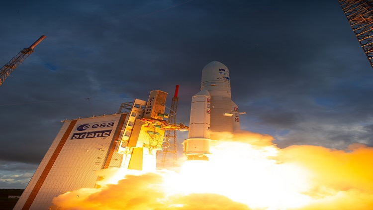 Watch the launch of the first reprogrammable satellite