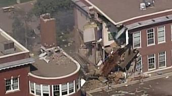 This school's gas valve looked to be closed, then it exploded