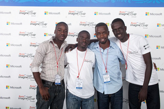 Matibabu development team at the 2013 Microsoft Imagine Awards. Source: ImagineCup / CC BY-SA 2.0