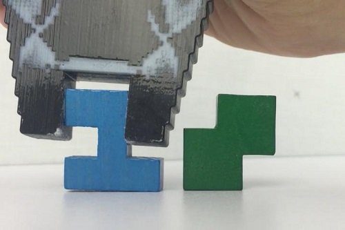 The maximum stiffness of a 3D printed gripper could be improved through precise control. Image credit: MIT