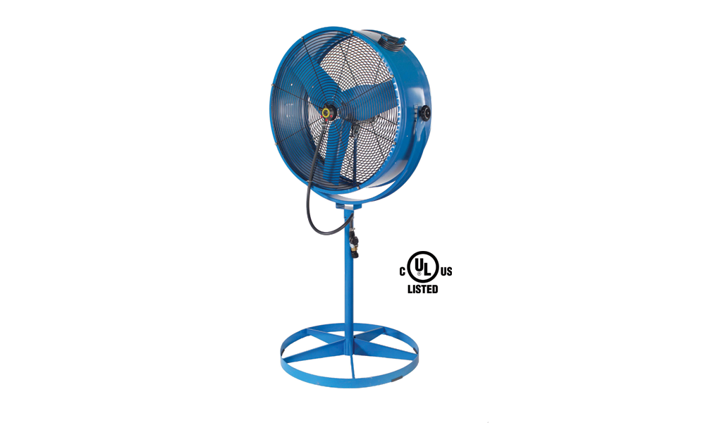 Extreme Hot Weather Fans : Hot weather is here use a misting fan to keep cool