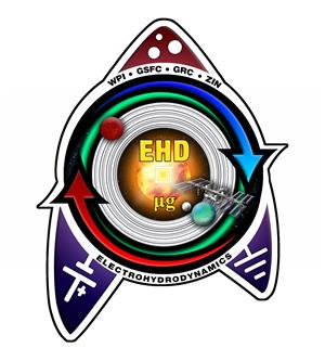 The mission patch for the planned test of the pump aboard the International Space Station.(Source: WPI)