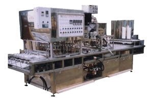 Full automated conveyor-based sealing machine. Image credit: Seal Film