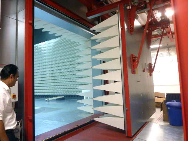 The 10-m EMC chamber. Source: TUV Rheinland IoT Excellence Center