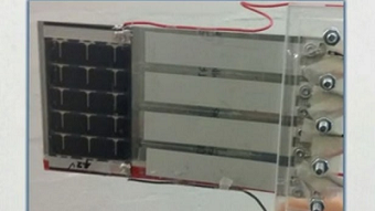 Watch how flags harvest both solar and wind energy