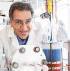 Michael J. Aziz and others at Harvard University developed a metal-free flow battery.
