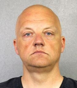 Broward County, Fla., sheriff's office booking photo of VW executive Oliver Schmidt.