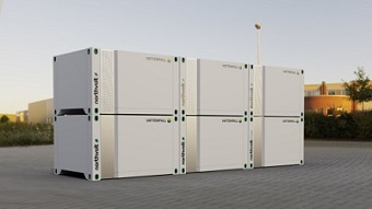 Modular energy storage solution designed to replace diesel generators