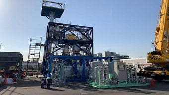 New Tokyo facility to produce hydrogen from sewage sludge