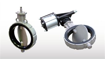 WAM's VW butterfly valve for efficient and reliable flow interception