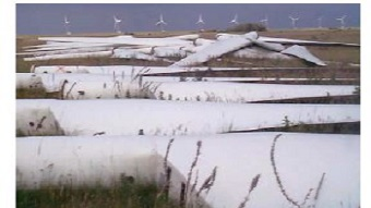 Report: Challenges in wind turbine blade recycling