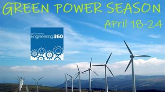 Green Power Season (April 18-24)