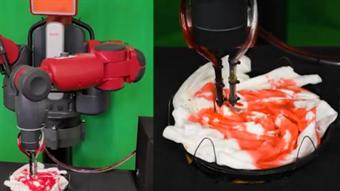 Watch this robot tie-dye T-shirts