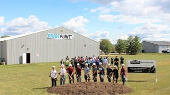 Pivot Point Inc. expands manufacturing facilities