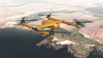 Heavy payload drone in the works for military applications