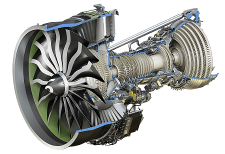 Cutaway view of the GE9X engine. Source: GE Aviation
