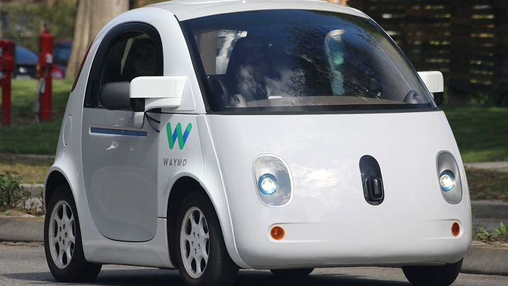 Waymo self-driving car. Source: Grendelkhan/CC BY-SA 4.0.