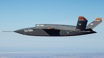 Video: Air Force completes first unmanned fighter jet test flight