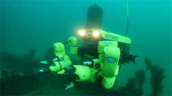 Mine-sweeping underwater robot awarded contract with US Navy