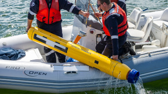 New Underwater Drone Prowling Coastal Waters