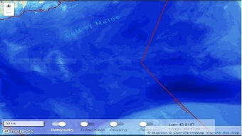 Marine mapping tool designed to inform better decisions
