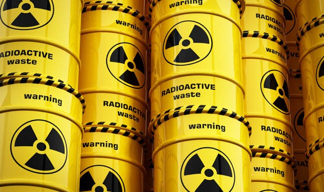Arsenic molecules might be used to extract the most toxic elements from radioactive waste. Image credit: University of Manchester
