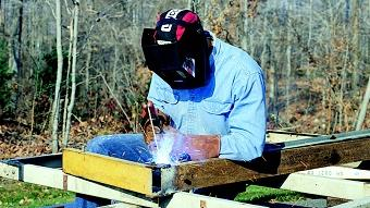 Uses for shielded metal arc welding