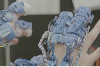 Exoskeleton prototype. Source: UWE Bristol