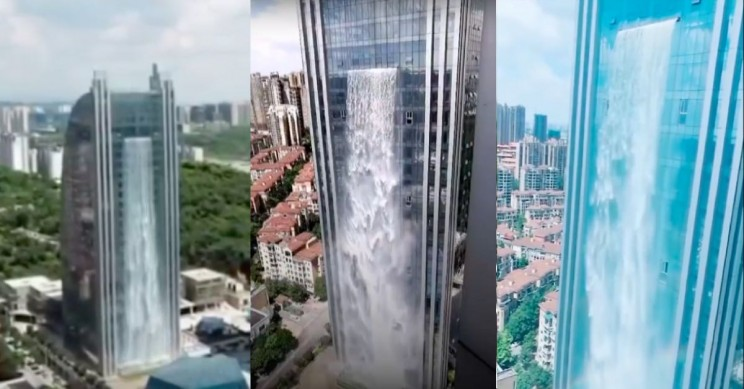 Building In China Includes Its Own Waterfall Engineering360