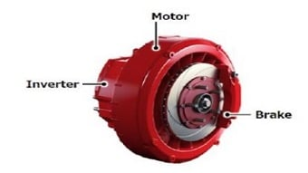Video: Compact, lightweight direct-drive system for in-wheel applications