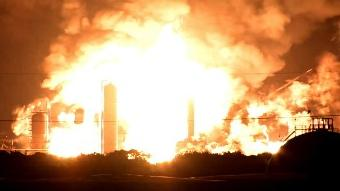 Refinery explosion stalls 10-year growth trajectory