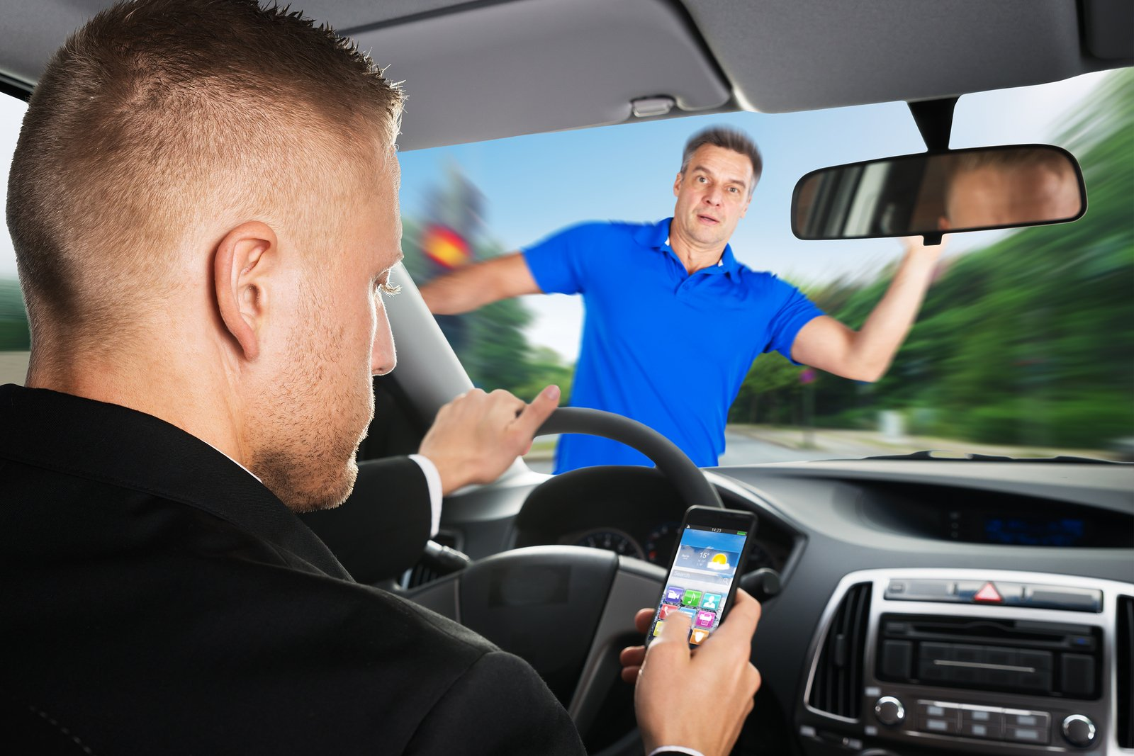 Distracted driving  can cause fatal accidents. Source: Law Group