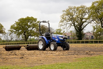 The autonomous tractor used by Hands Free Hectare. (Source: Hands Free Hectare)