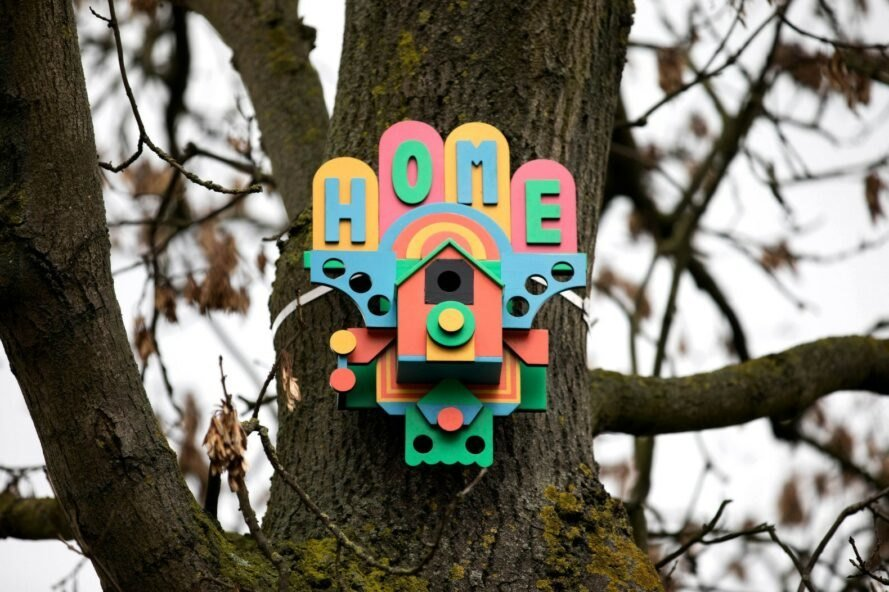 IKEA joins with London artists to construct bird houses from old