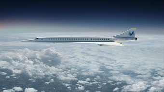 Accelerating nacelle technology for use in supersonic airliners