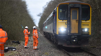 Video: Sheffield engineers develop track-cleaning technology