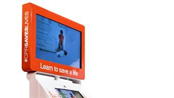 Study Looks at Effectiveness of Hands-Only CPR Training Kiosks