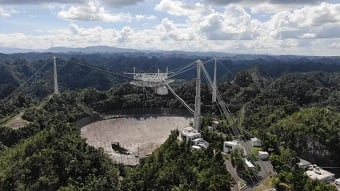Adios, Arecibo: World's largest radio telescope to go dark