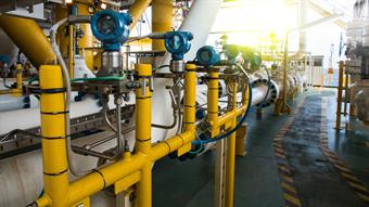 Process instrumentation in the oil and gas industry