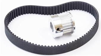Fundamentals of timing pulleys and belts